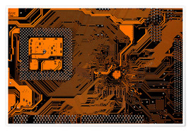 Poster Computer motherboard