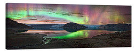 Canvas print  Auroral display, Greenland - Juan Carlos Casado