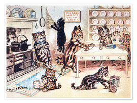 Premium poster  The Picture Book of Kittens 13 - Louis Wain
