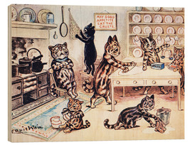 Wood  The Picture Book of Kittens 13 - Louis Wain