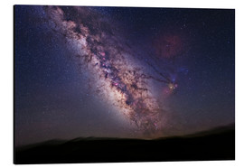 Aluminium print  Milky Way over California, USA - Tony & Daphne Hallas