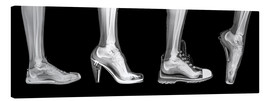Canvas  Various shoes (radiograph) - PhotoStock-Israel