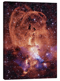 Canvas print  NGC 3576 nebula - NASA