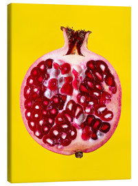 Canvas print  Halved pomegranate - Mark Sykes