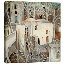 Canvas  White trees - Anita Ree
