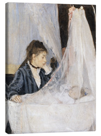 Canvas  The Cradle - Berthe Morisot