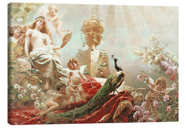 Canvas print  The Toilet of Venus - Konstantin Jegorowitsch Makowski
