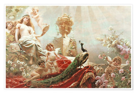 Premium poster  The Toilet of Venus - Konstantin Jegorowitsch Makowski