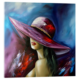 Theheartofart Gena - Lady with Hat