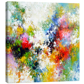 Canvas print  Abstract star - Theheartofart Gena