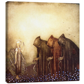 Canvas print  The story of Skutt the Moose and little Princess Tuvstarr - John Bauer