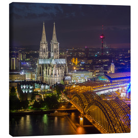 Canvas print  Cologne Cathedral - rclassen