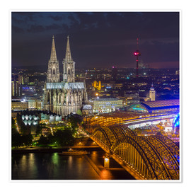 Premium poster  Cologne Cathedral - rclassen
