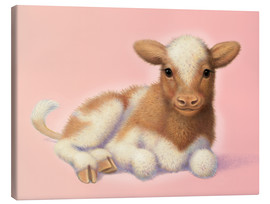 Canvas print  Little calf - John Butler