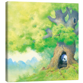 Canvas print  Panda In tree - John Butler