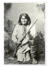 Premium poster Chief Geronimo
