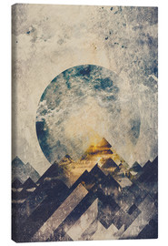 Canvas print  One mountain at a time - HappyMelvin