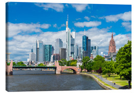 Canvas print  Frankfurt am Main - euregiophoto