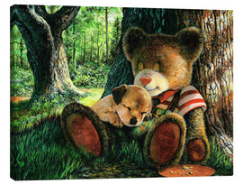 Canvas print  New Buddies - John Bindon