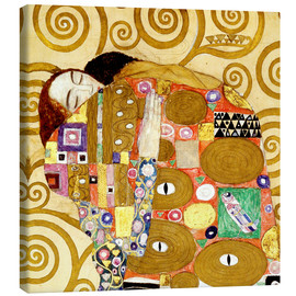 Canvas  The Hug - Gustav Klimt