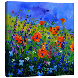 Canvas print  Flower meadow - Pol Ledent