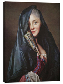 Canvas print  Lady with veil - Alexander Roslin