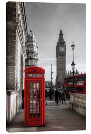Filtergrafia - London Telephone Box and Big Ben