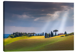 Canvas print  Tuscany landscape - FineArt Panorama