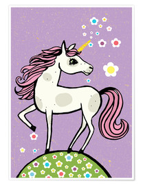 Little Miss Arty - Magic dust, the unicorn
