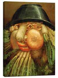 Canvas print  The Vegetable Gardener - Giuseppe Arcimboldo