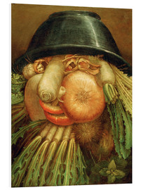 Foam board print  The Vegetable Gardener - Giuseppe Arcimboldo