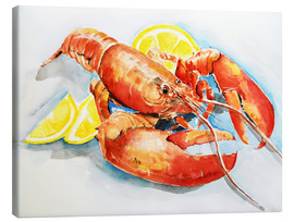 Canvas print  Lobster - Maria Földy