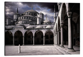 Alu-Dibond  Lady and the mosque - Daniel Murphy