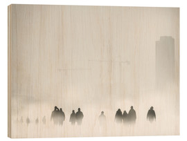 Wood print  Atmosphere - Piet Flour