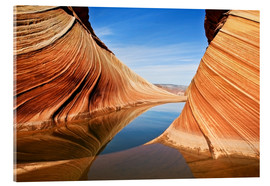Acrylic print  Follow the Flow - Nanouk el Gamal