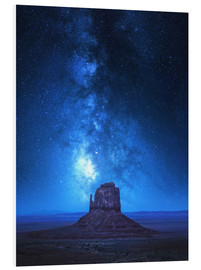 Foam board print  Monument Milkyway - Juan de Pablo