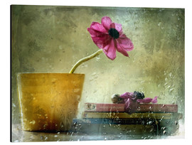 Aluminium print  A day to stay at home - Delphine Devos