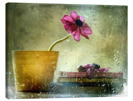Canvas print  A day to stay at home - Delphine Devos