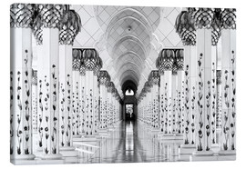 Canvas  Sheik Zayed Mosque - Hans-Wolfgang Hawerkamp