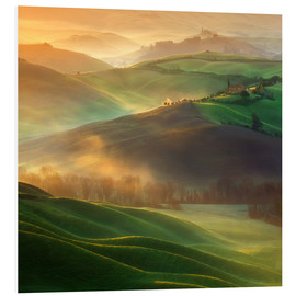 Foam board print  Morning dreams - Krzysztof Browko