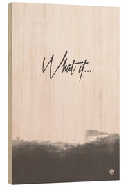Wood  What if - m.belle