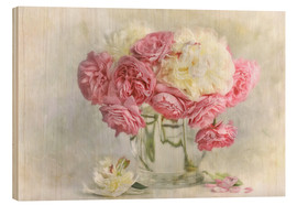 Wood  roses and peonies - Lizzy Pe