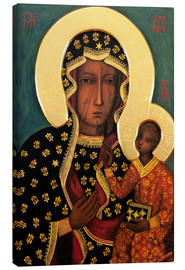 Canvas print  Black Madonna of Czestochowa - Lukas