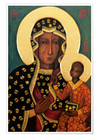 Poster  Black Madonna of Cz?stochowa - Lukas