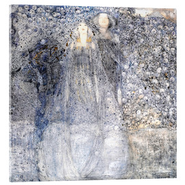 Acrylic print  Silver Apples - Margaret MacDonald Mackintosh
