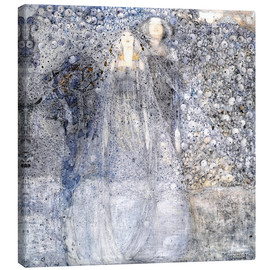 Canvas print  Silver Apples - Margaret MacDonald Mackintosh