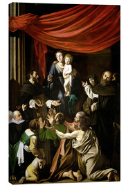 Canvas print  Madonna of the Rosary - Michelangelo Merisi (Caravaggio)