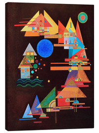 Canvas print  Peaks in the bow - Wassily Kandinsky