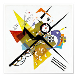 Poster  On White II - Wassily Kandinsky