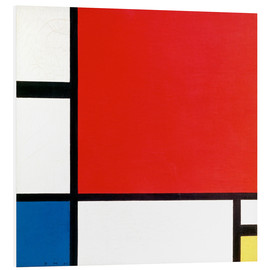 Forex  Composition with Red, Yellow and Blue - Piet Mondrian